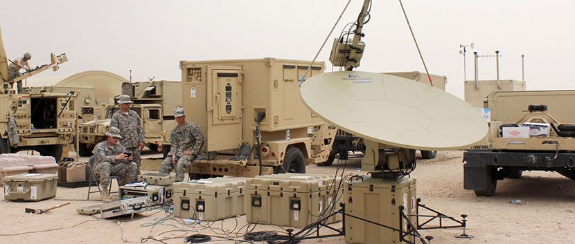 US Army SNAP SATCOM Dish